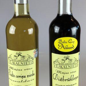 Pussaldie vīni